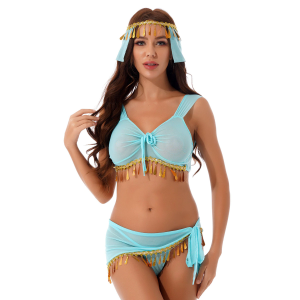 Sexy Arabian Belly Dancer Role Play Costume #C1554